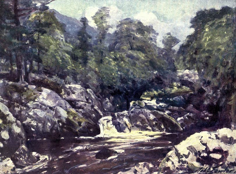 Beautiful Wales Painted and Described - In the Lledr Valley (1905)