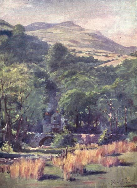 Beautiful Wales Painted and Described - Duffws Mountain (1905)