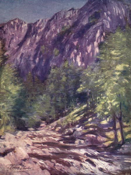Beautiful Wales Painted and Described - Aberglaslyn (1905)