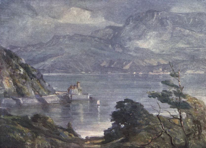 Beautiful Wales Painted and Described - Misty Morning, near Barmouth (1905)