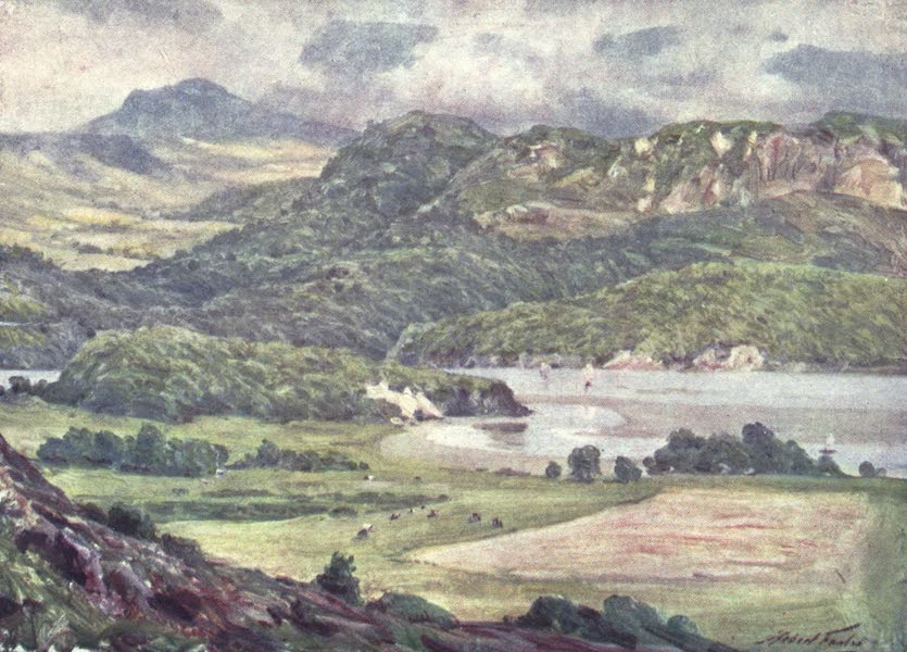 Beautiful Wales Painted and Described - Mist on Cader Idris (1905)