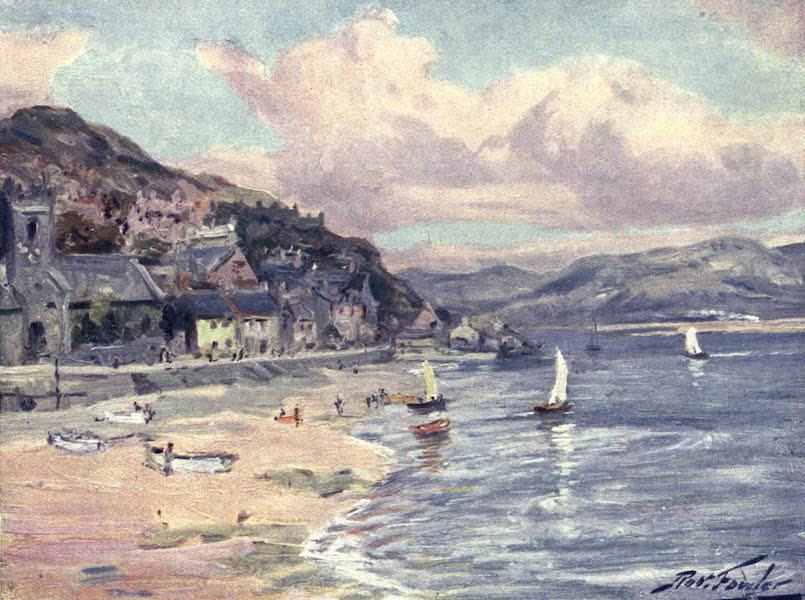 Beautiful Wales Painted and Described - Aberdovey (1905)