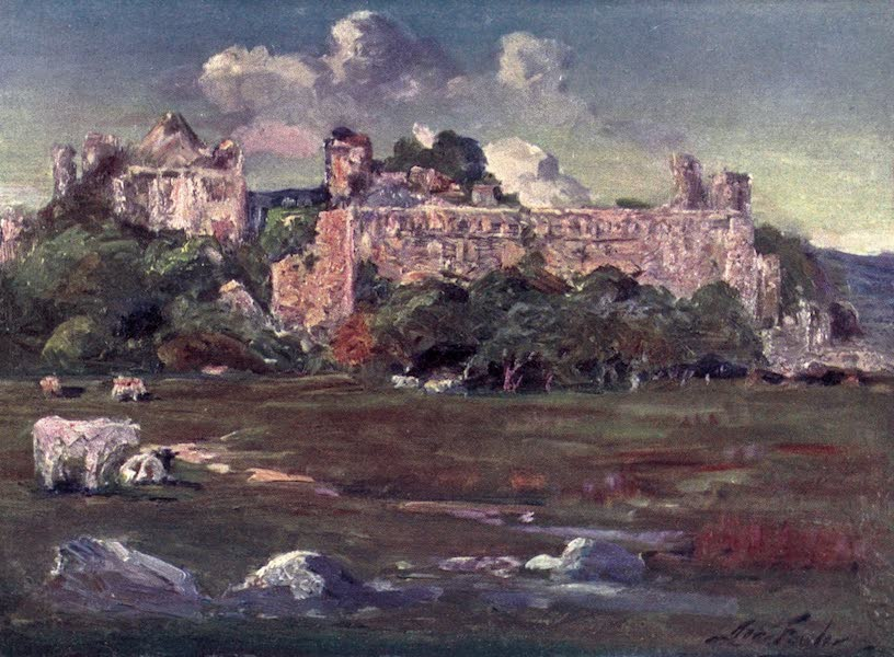 Beautiful Wales Painted and Described - St. David's - Bishop's Palace (1905)