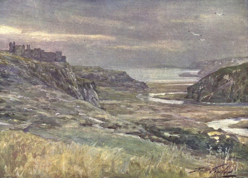 Beautiful Wales Painted and Described - Pennard Castle, Glamorganshire (1905)