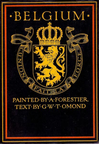 Belgium, Painted and Described - Front Cover (1908)