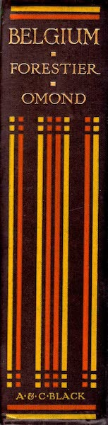 Belgium, Painted and Described - Spine (1908)