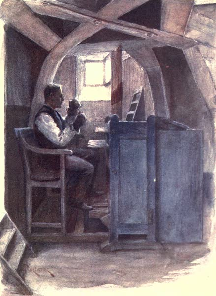 Belgium, Painted and Described - Bell-ringer playing a Chime (1908)
