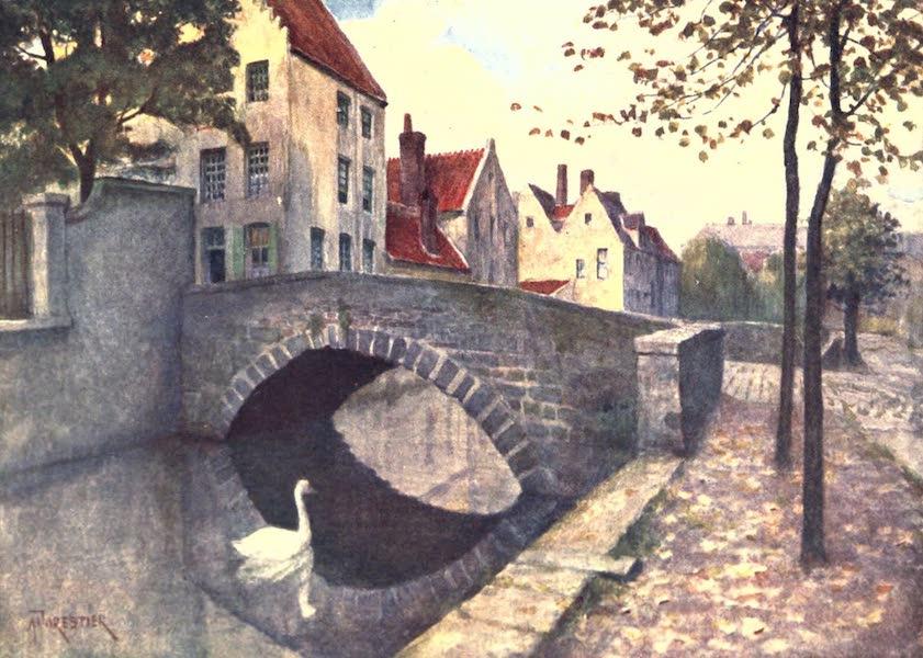 Belgium, Painted and Described - Quai des Marbriers, Bruges (1908)