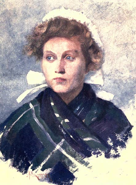 Belgium, Painted and Described - A Flemish Young Woman (1908)