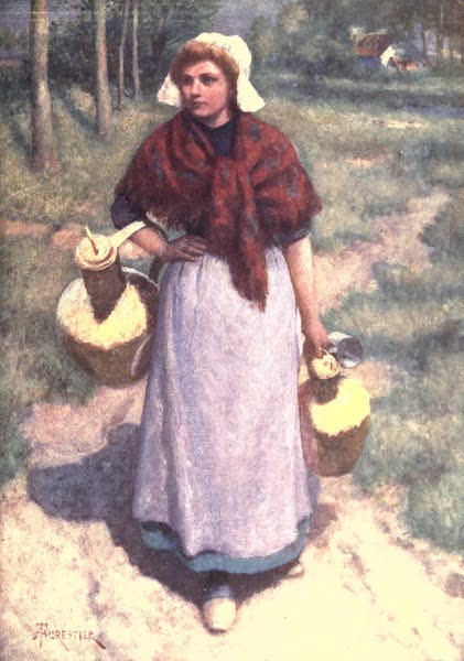 Belgium, Painted and Described - A Flemish Country Girl (1908)
