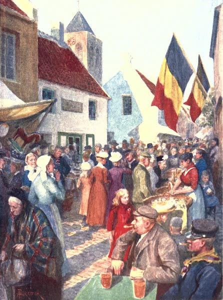 Belgium, Painted and Described - At the Kermesse, Adinkerque (1908)