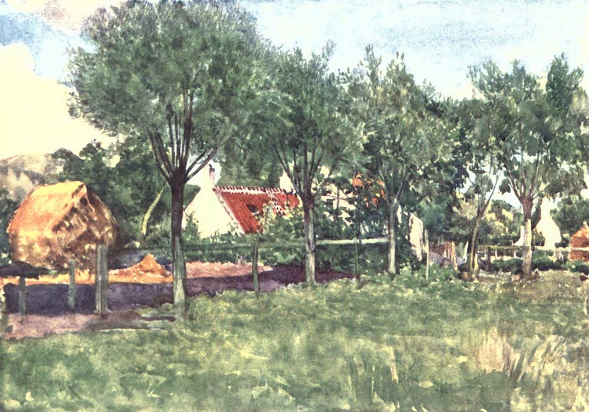 Belgium, Painted and Described - A Farmsteading (1908)