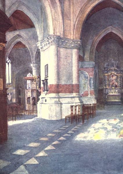 Belgium, Painted and Described - Interior of Church, Nieuport (1908)