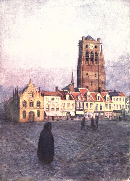 Belgium, Painted and Described - Tower of St. Nicholas, Fumes (1908)