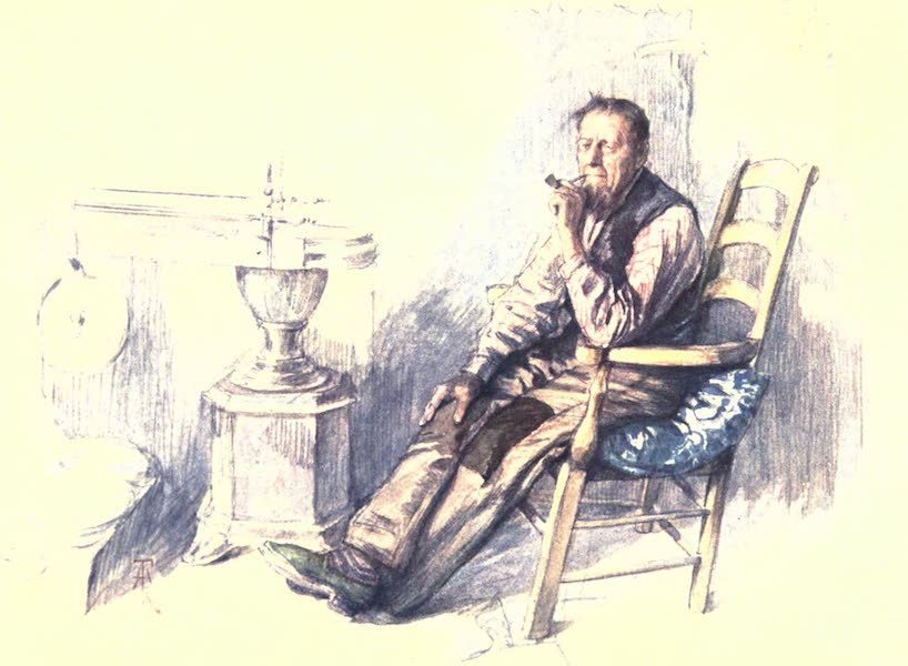 Belgium, Painted and Described - An Old Farmer (1908)