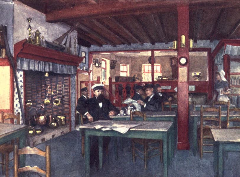 Belgium, Painted and Described - Interior of a Flemish Inn, La Panne (1908)