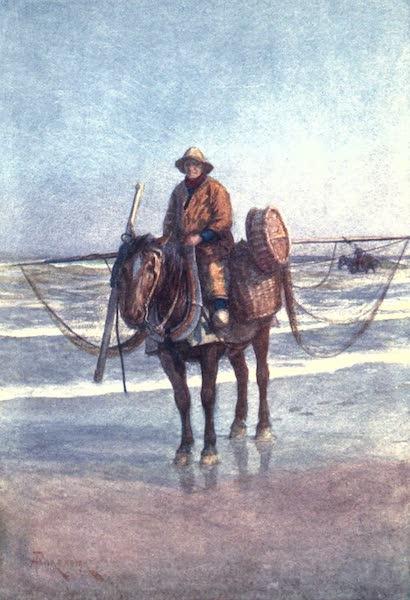 Belgium, Painted and Described - A Shrimper on Horseback, Coxyde (1908)