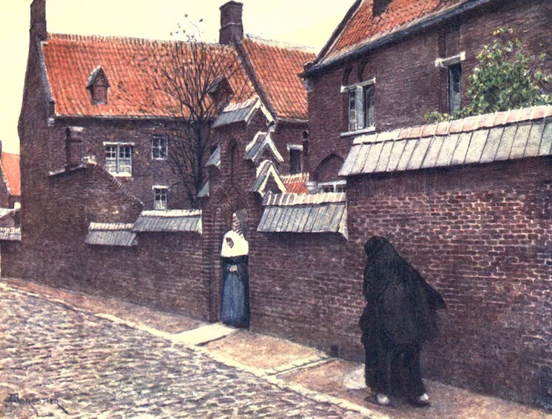 Belgium, Painted and Described - Beguinage de Mont St. Amand, Ghent (1908)