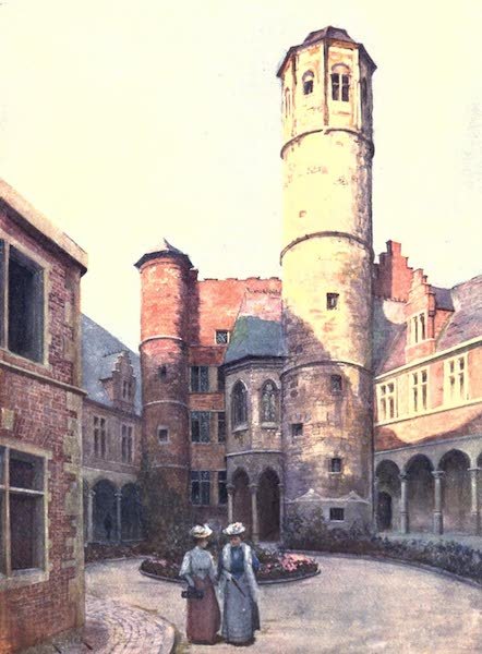 Belgium, Painted and Described - The Arriere Faucille (Achter Sikkel), Ghent (1908)