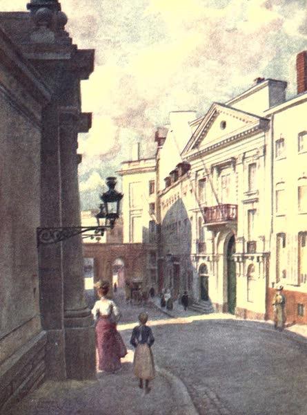 Belgium, Painted and Described - Rue de Namur, Brussels (1908)