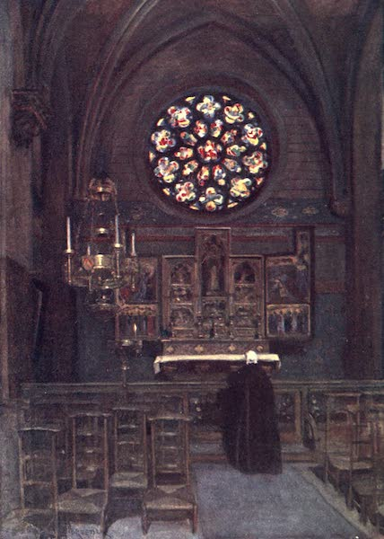 Belgium, Painted and Described - The Cathedral Chapel of St. Joseph, Antwerp (1908)