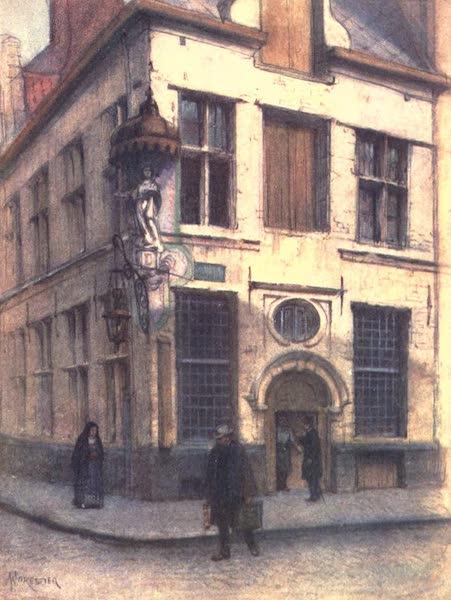 Belgium, Painted and Described - Old Houses in the Rue de l'Empereur, Antwerp (1908)
