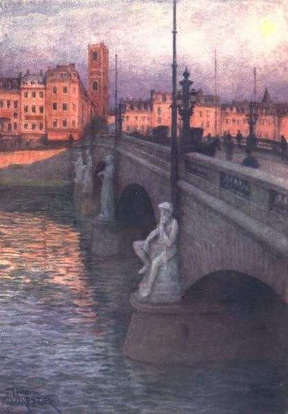 Belgium, Painted and Described - Pont des Arches, Liege (1908)