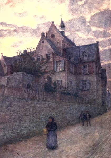 Belgium, Painted and Described - The Hospital, Dinant (1908)
