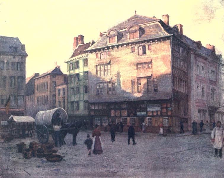 Belgium, Painted and Described - Old House of the Quai de la Goffe, Liege (1908)