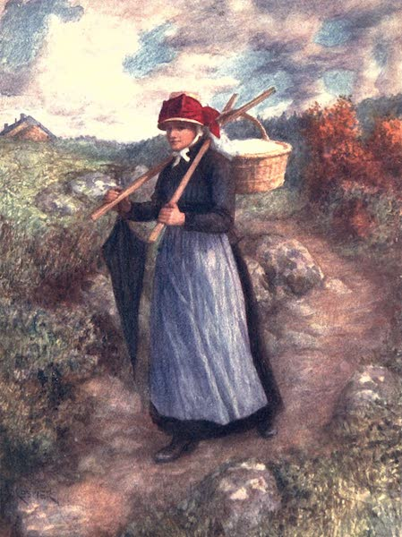Belgium, Painted and Described - A Peasant Woman of the Ardennes (1908)