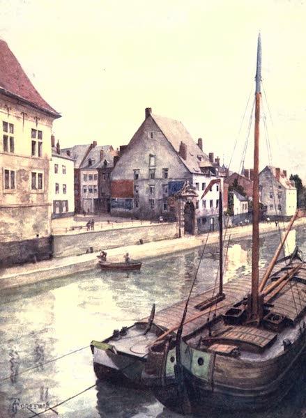 Belgium, Painted and Described - The River Sambre seen from the Pont de Sambre, Namur (1908)