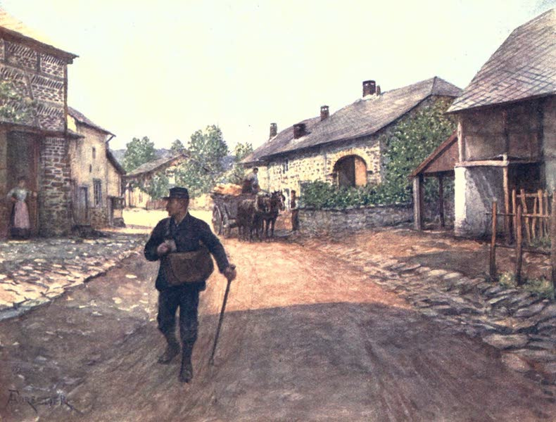 Belgium, Painted and Described - La Gleize, a Village in the Ardennes (1908)