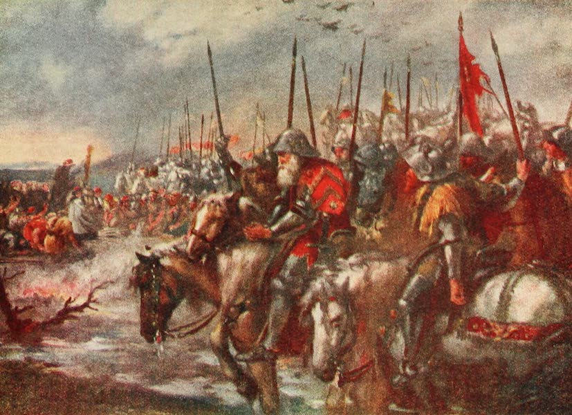 Belgium Past and Present - The Morning of Agincourt (1920)