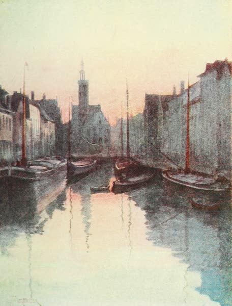 Belgium Past and Present - Quae du Miroir, Bruges (1920)
