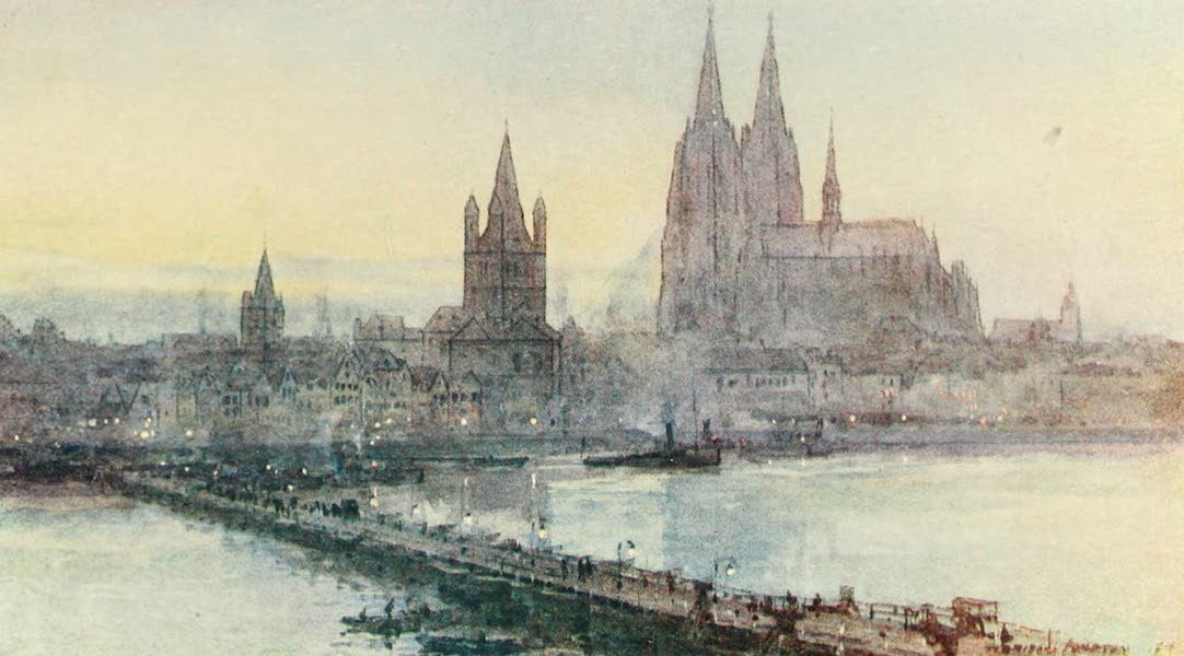 Belgium Past and Present - Cologne (1920)