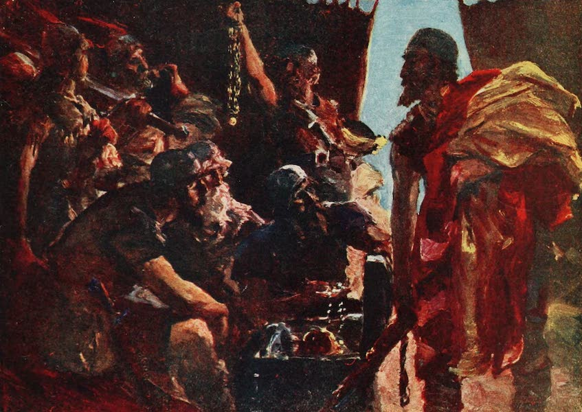 Belgium Past and Present - The Camp and Treasure of Charles the Bold en the Hands of the Swiss (1920)