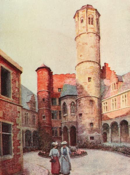 Belgium Past and Present - The Arriere Faucille, Ghent (1920)