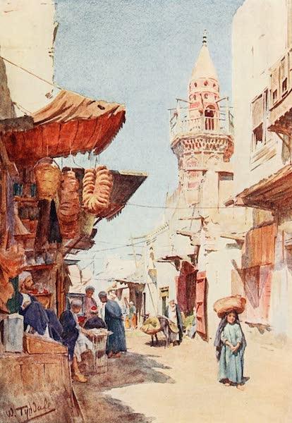 Below the Cataracts - Street off the Suk Ez-Zalat, Cairo (1907)