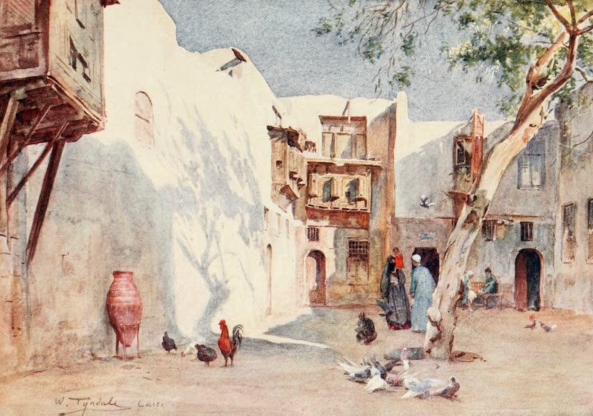 Below the Cataracts - A Courtyard in the Hanafieh Quarter (1907)