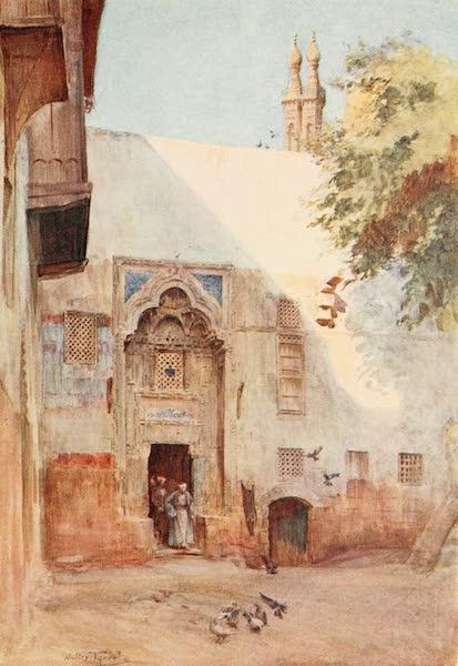 Below the Cataracts - A Court near El-Azhar (1907)