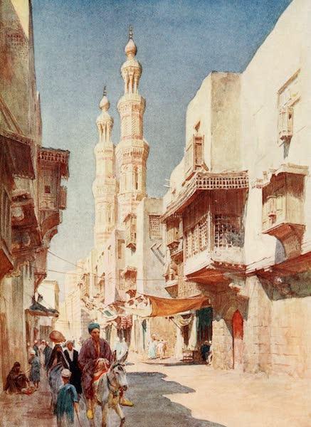 Below the Cataracts - The Twin Minarets of El-Mudyyad (1907)
