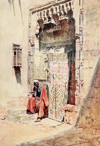 Below the Cataracts - The Guardian of the Hareem (1907)