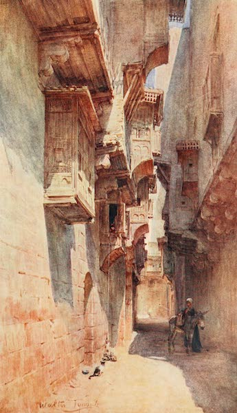 Below the Cataracts - A Lane in the Tulun Quarter at Cairo (1907)