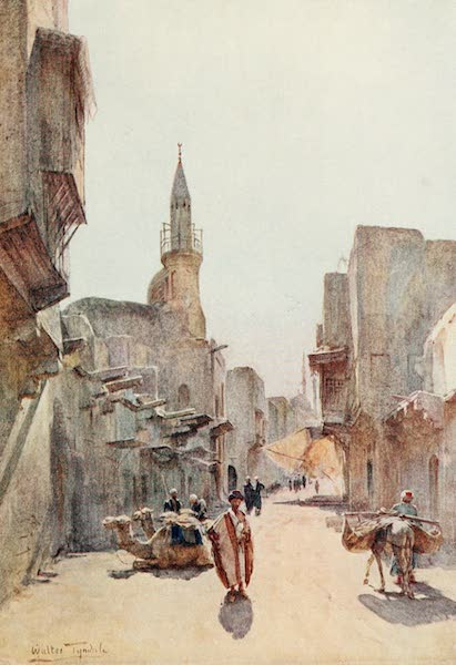 Below the Cataracts - A Street near the Citadel, Cairo (1907)