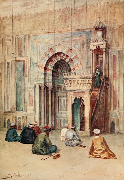 Below the Cataracts - The Sanctuary in the Mosque of Sultan Hasan (1907)