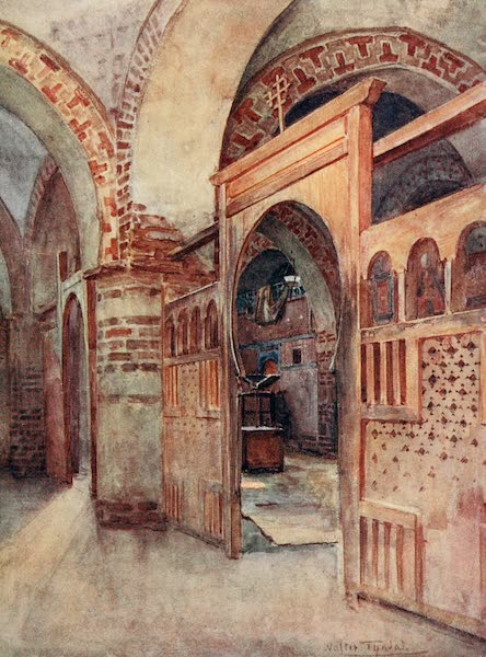 Below the Cataracts - A Coptic Church near Abydos (1907)