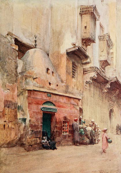 Below the Cataracts - A Sheykh's Tomb at Cairo (1907)