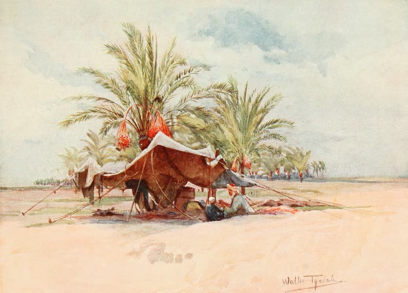 Below the Cataracts - A Bedawi Tent (1907)