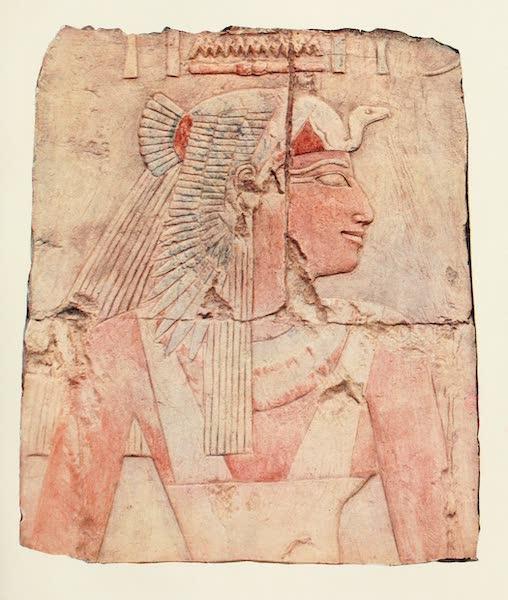 Below the Cataracts - Aahmes, Mother of Hatshepsu, in the Temple at Der El-Bahri (1907)