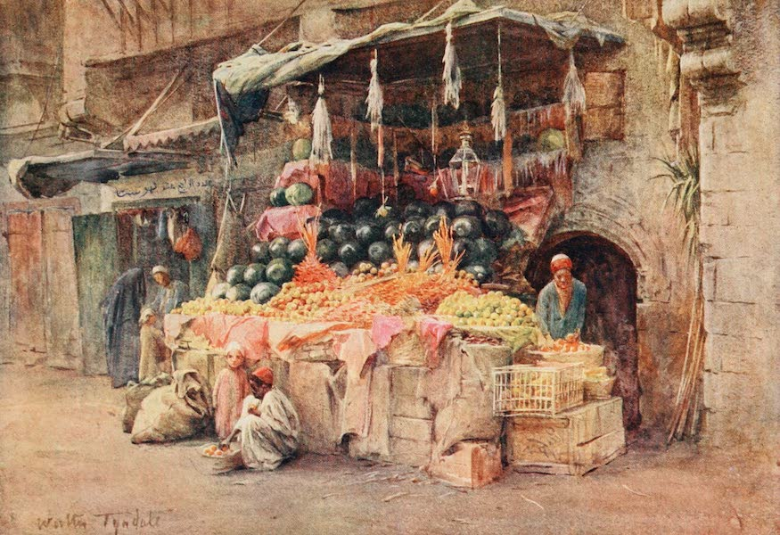 Below the Cataracts - A Fruit Stall (1907)